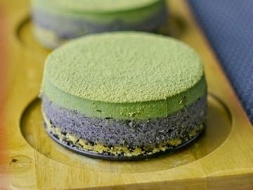 Matcha Sesame Cheesecakes Recipe