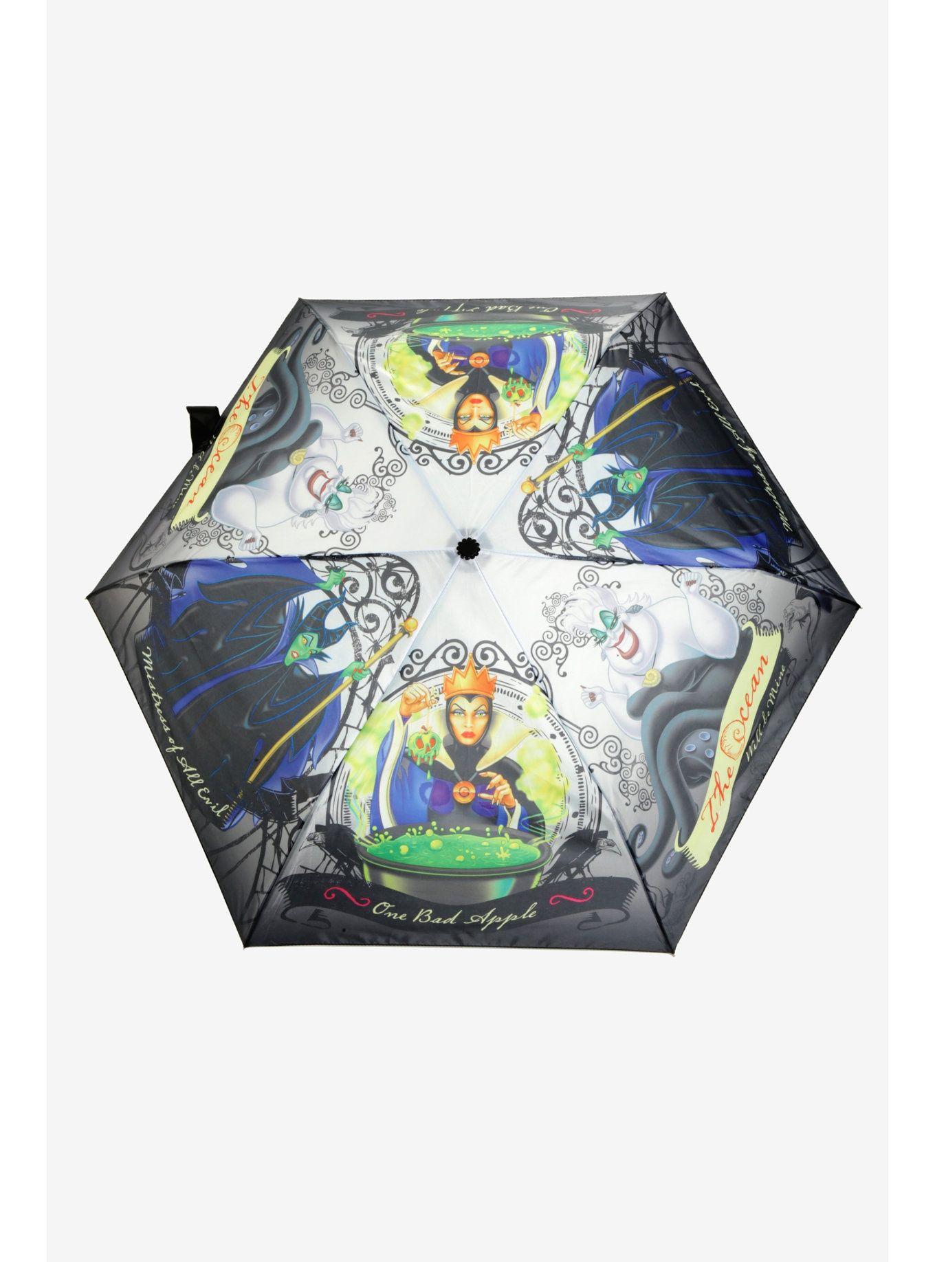 a91917bebe911 Disney Villains Push Button Umbrella