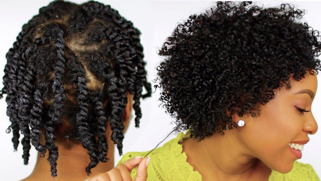 How To Moisturized And Defined Twist Out On Short Natural Hair Step By Step Tutorial Youtu Natural Hair Twist Out Natural Hair Styles Natural Hair Twists