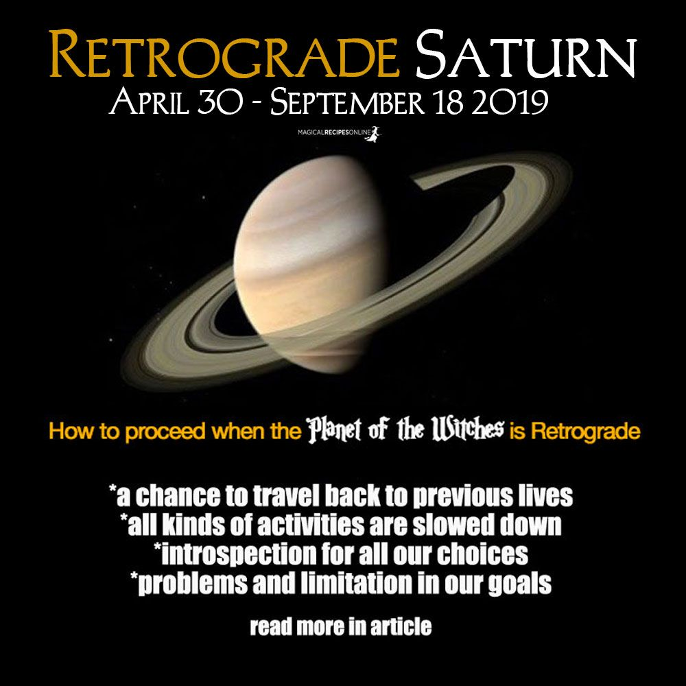 Retrograde Saturn 20   How will this Affect You   Magical ...