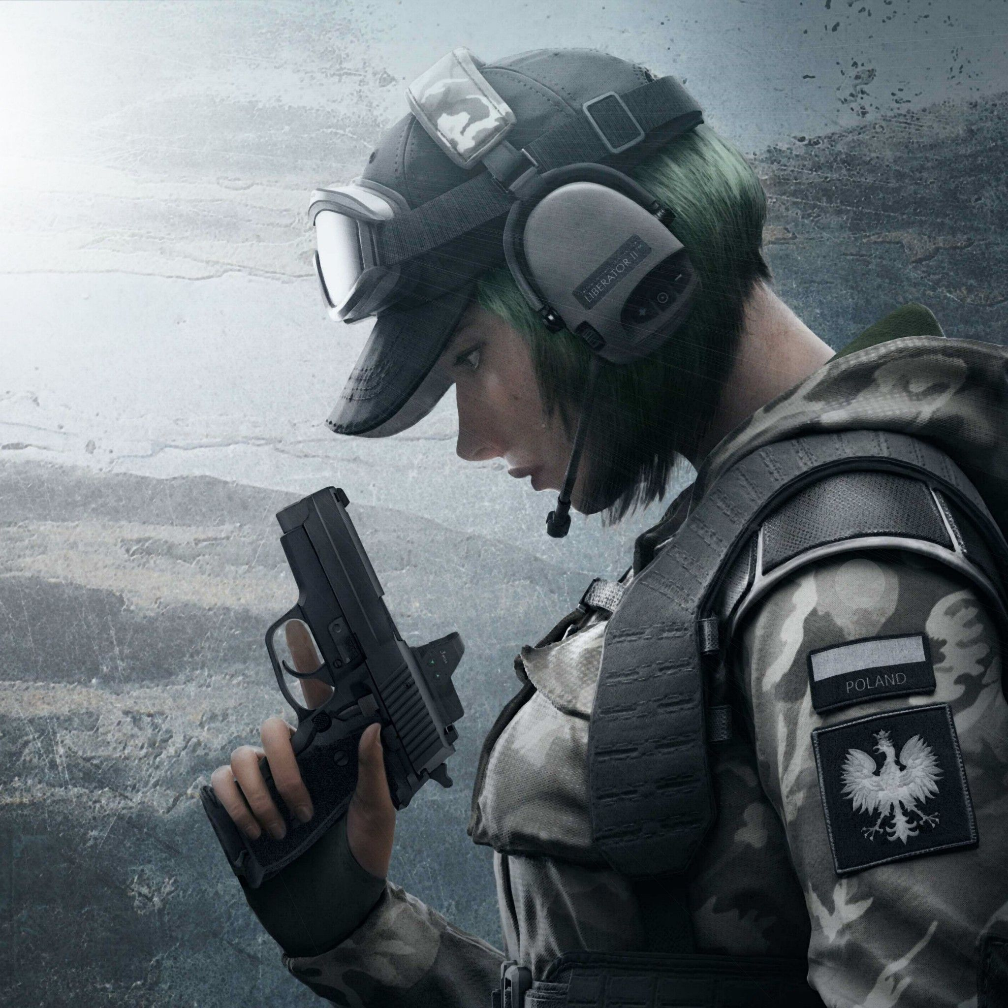 Wallpaper Operator Ela Defender Rainbow Six Siege 4k Com