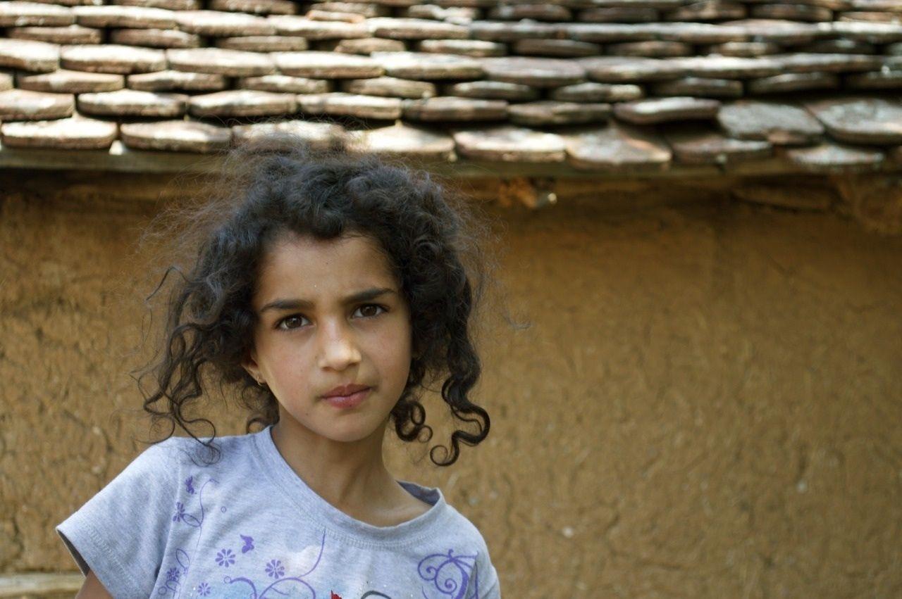 Beautiful Roma girl