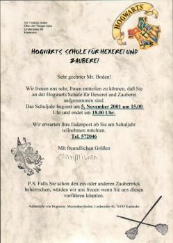 party invitation auf deutsch harry potter kindergeburtstag pinterest auf deutsch. Black Bedroom Furniture Sets. Home Design Ideas