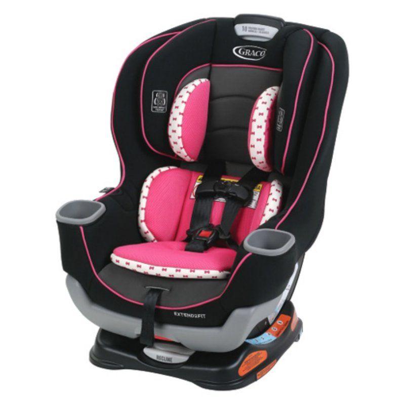 Graco extend2fit convertible car seat kenzie 8aq00kze
