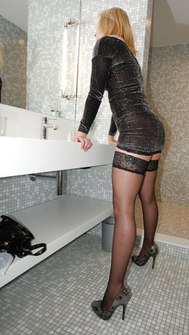 Crossdresser high heels pinterest