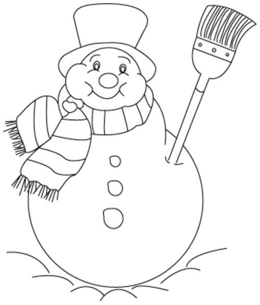 patrones para pintar de navidad | Muneco nieve navidad | RISCOS ...