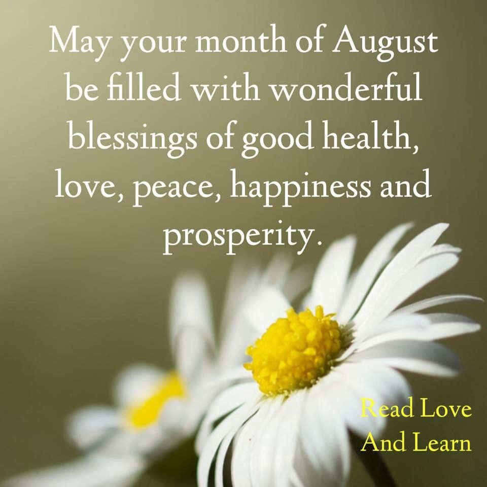 Welcome August Quotes | August month, Hello august images, August images