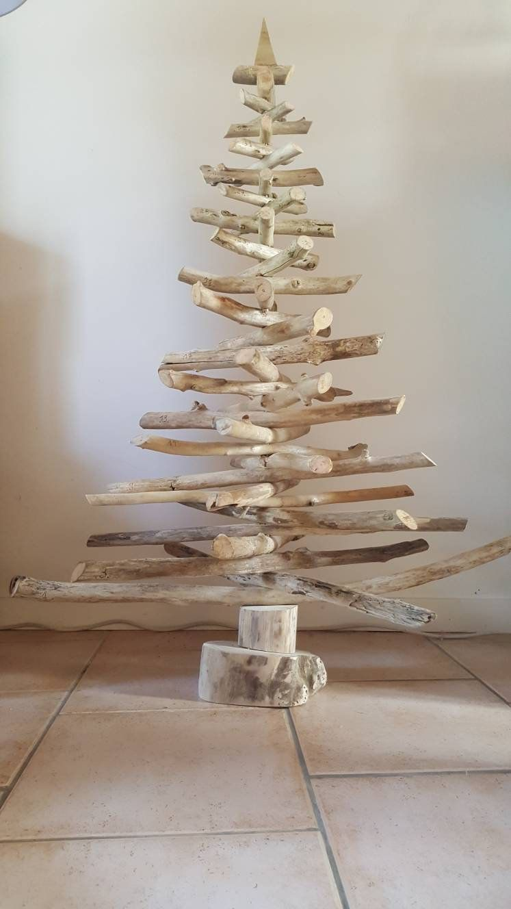 Decoration noel en bois flotte