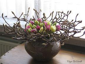 Diy dieses nest aus zweigen frühlingsdeko pinterest nestchen