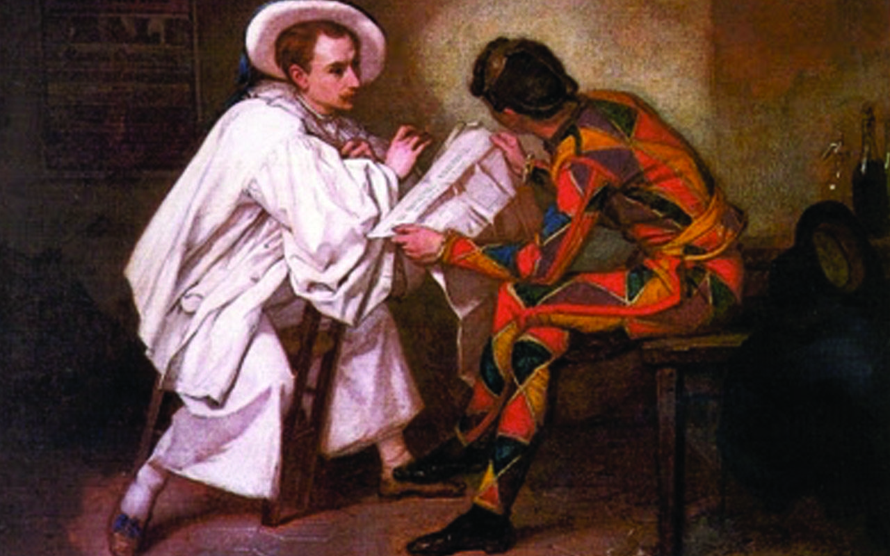 Arlequin et Pierrot