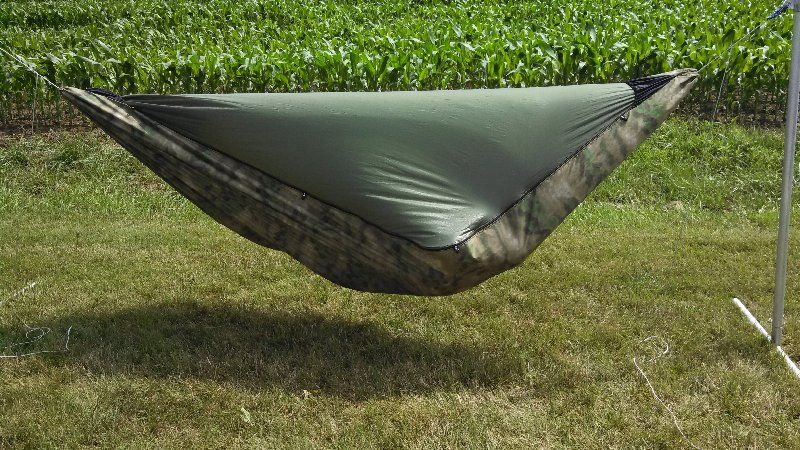 dangerbird  u2013 a gathered end sewn channel 4 season hammock  it features a built dog camping quotes   camping hammock and hammock tarp  rh   pinterest co uk