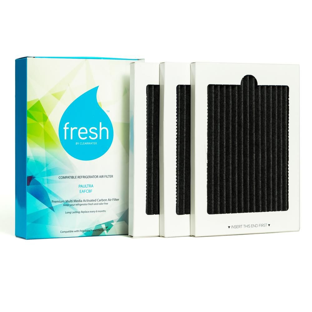 5 Pack Fridge Filter Fits Frigidaire Pure Air Ultra Electrolux EAFCBF PAULTRA