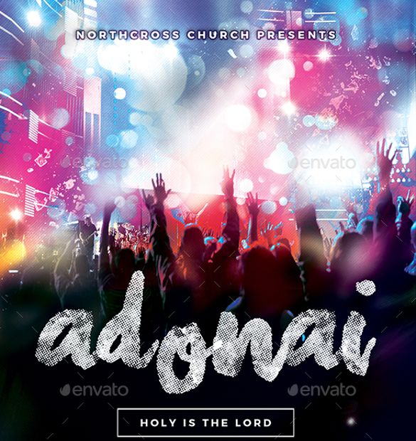 church flyer template free download