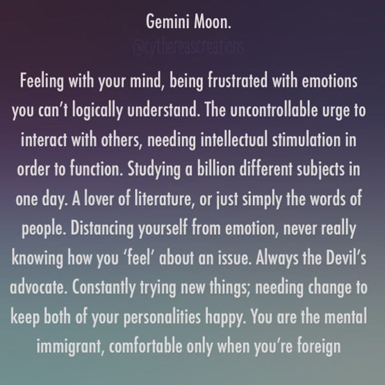 moon sign compatibility gemini and gemini