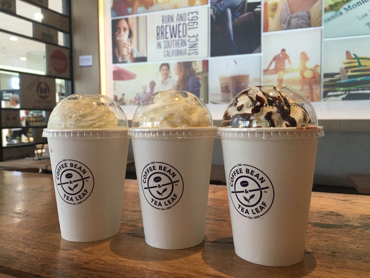The Coffee Bean Tea Leaf Launches Summer Flavors With Its Coconut Ice Blended Drinks Blended Drinks Coffee Beans Tea Leaves