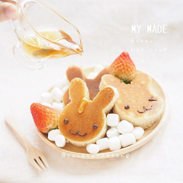 토끼 팬케이크