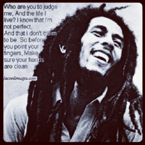 Self Acceptance Hater Haters Bob Marley Quote Suspend Judgement