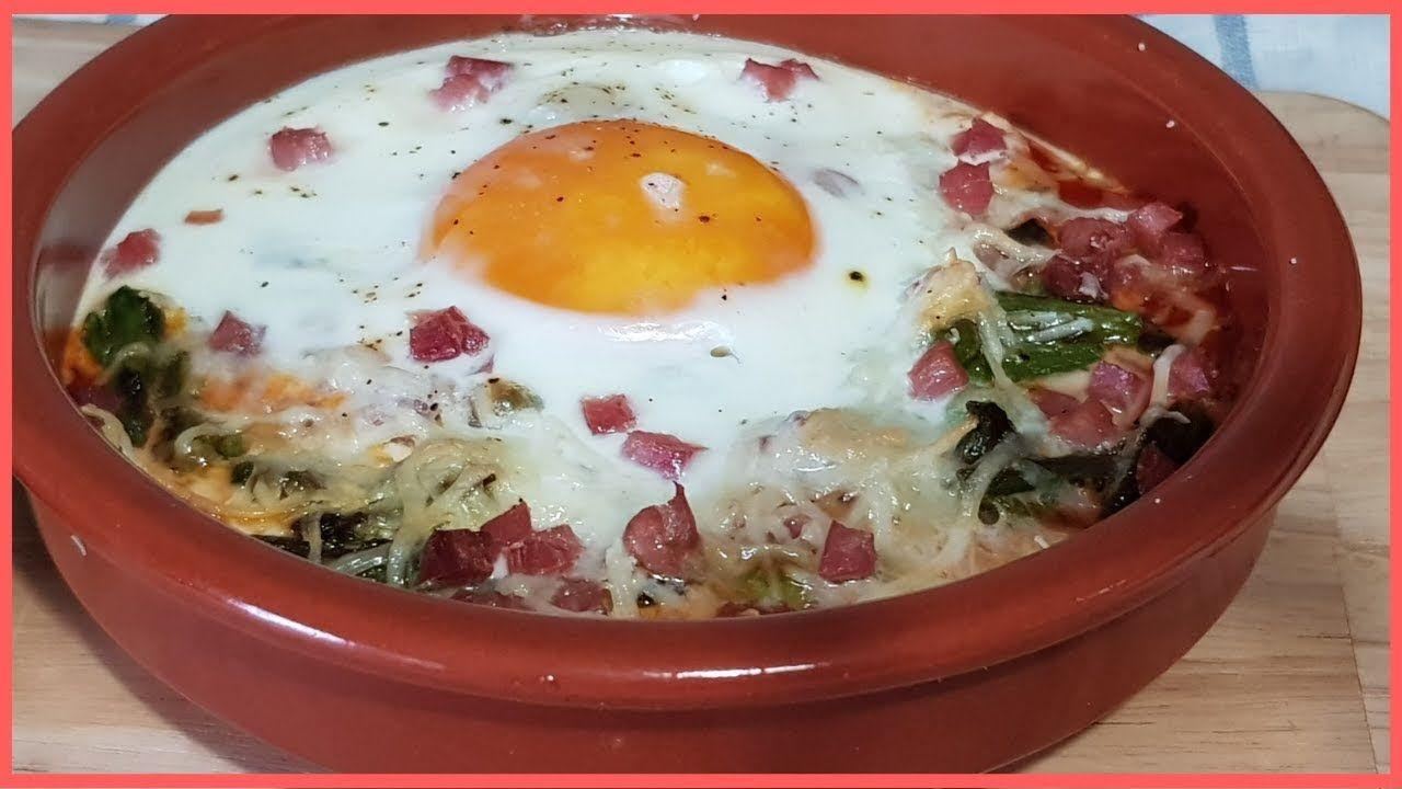 Huevos Al Plato Rápido Sencillo Y Rico Huevos Al Plato Platos Huevos