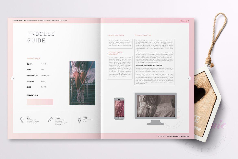 Melanie Creative Proposal Creative proposals, Brochure