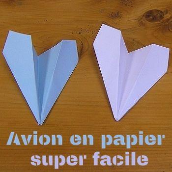 facile et rapide origami pinterest rapide avion en papier et avion. Black Bedroom Furniture Sets. Home Design Ideas
