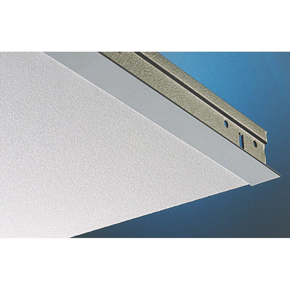 Plaque Plaza Pixel Blanc 60x60 Cm Knauf Pixel Blanc