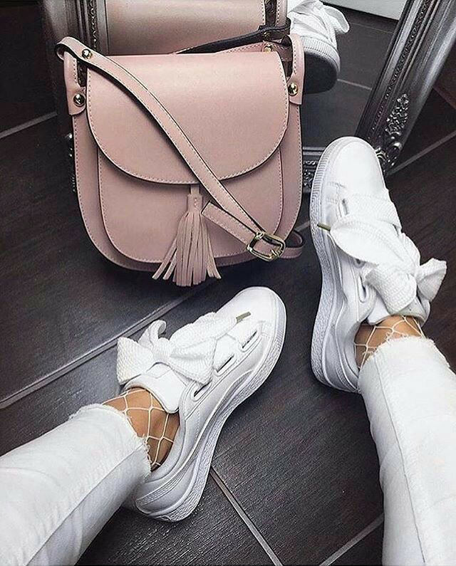 new product 6e7b0 b4c27 Pinterest  meerilouhivuori ♡ Instagram  meerilouhivuori ✨. pinterest Panda bae✨new  pins everyday Puma Bow Sneakers ...