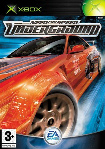 Need For Speed Underground Xbox Need For Speed Games Need For