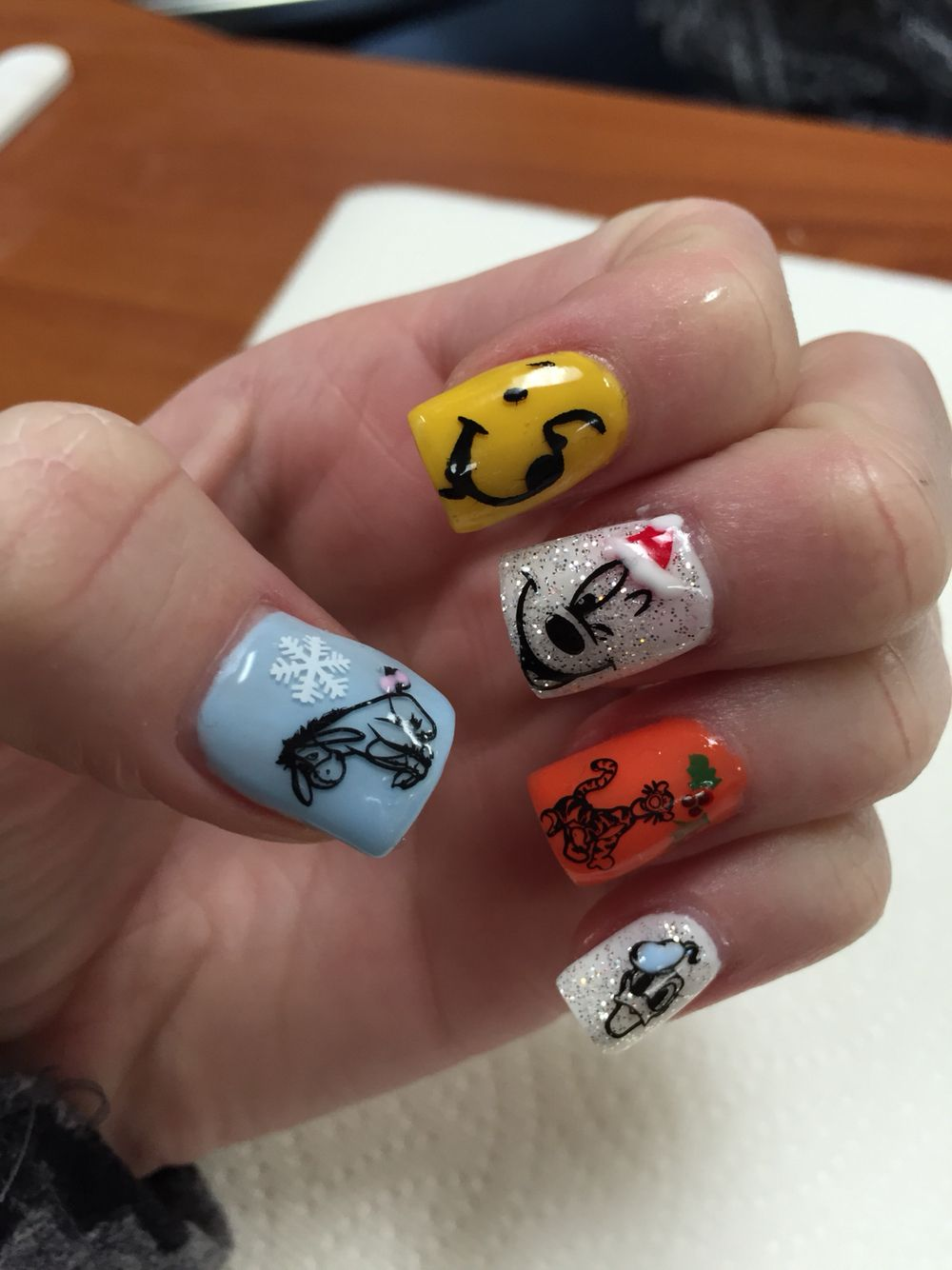 Disney nails | Nails by Janee at A Wild Hair Salon Reno, NV ...