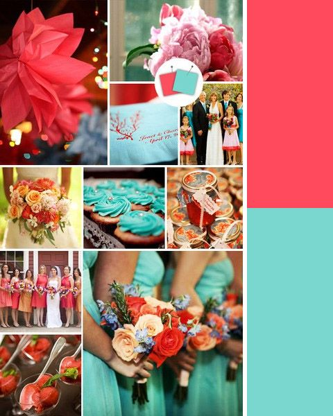 bright wedding colors...... These are soooo close to the colors I ...