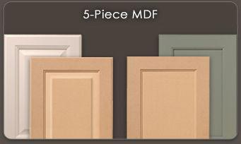 Mdf Doors 1 5 Piece Walzcraft Mdf Doors Mdf Cabinet Doors Mdf Cabinets