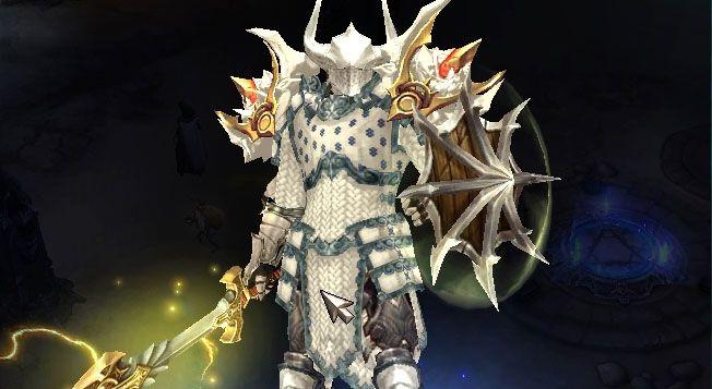 Akkhan Electrical White Crusade Diablo3 Transmog By Phil Http