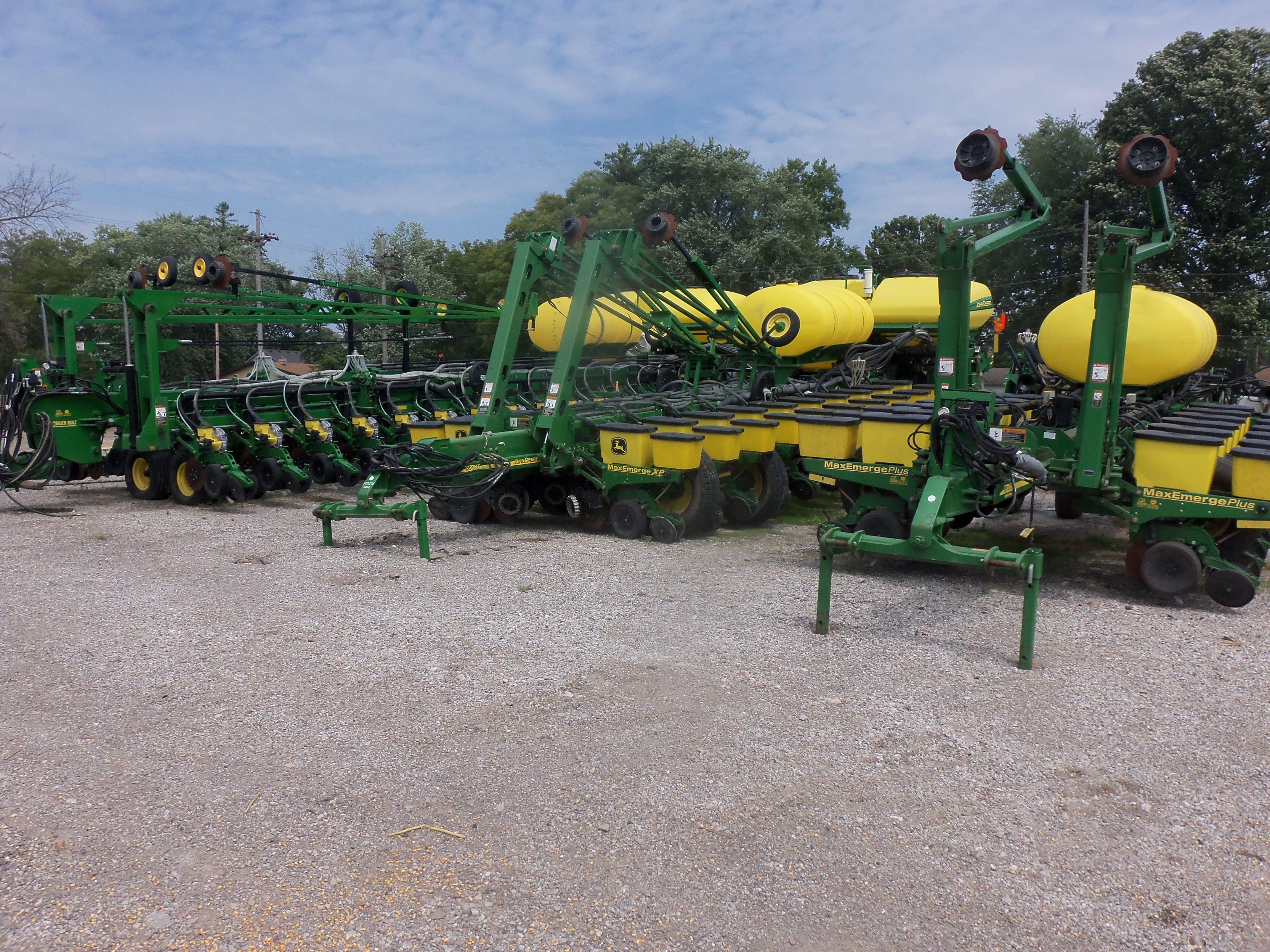 John Deere Corn Planters Right To Left 1770nt 1770nt 36 Row Db90