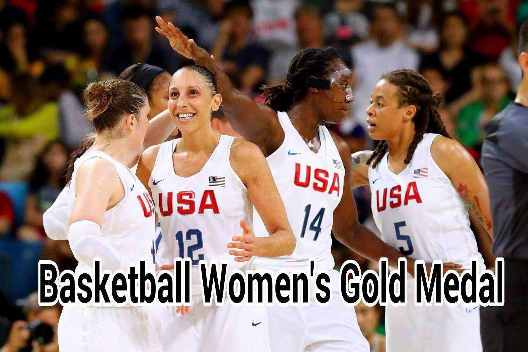 USA vs Spain Final Basketball Women's 2016 Hightlights