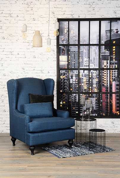 Den Tag gemütlich ausklingen lassen #Sessel #industrial feels like - wohnzimmer couch gemutlich