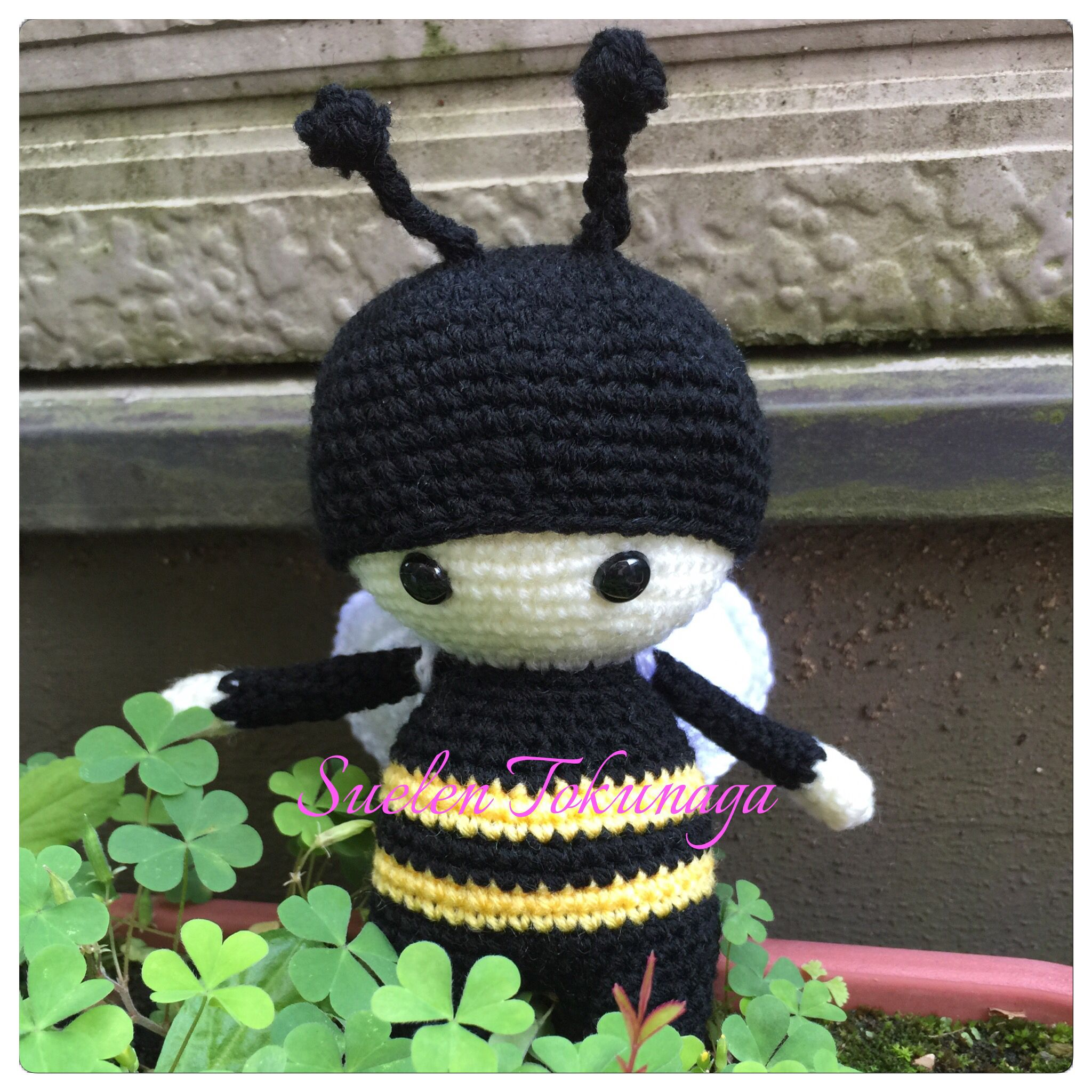 Bee 🐝 #amigurumi #crochet #crochê #handmade #handcraft #feitoamão