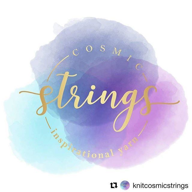 It was an honor to work on the rebranding of this beautiful etsy shop 💜💖💙 . . #Repost @knitcosmicstrings ・・・ . We have some exciting news! We started our etsy shop almost a year and a half ago, with a logo we designed. During this time, we have been individually stamping each of the skein tags with the logo on the front and our name on the back. Although we loved the rustic look and feel, we decided it is just too time consuming, when we could be dyeing more pretty colourways! So for…