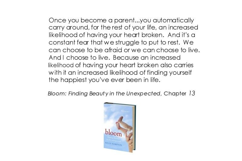 Bloom: Finding Beauty in the Unexpected  http://www.harpercollins.com/books/Bloom-Kelle-Hampton/?isbn=9780062045034
