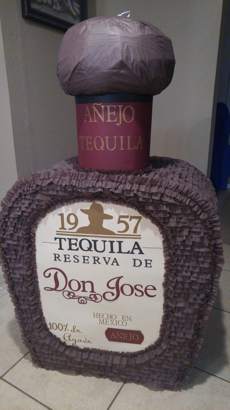 My version of Don Julio tequila bottle personalized for Don