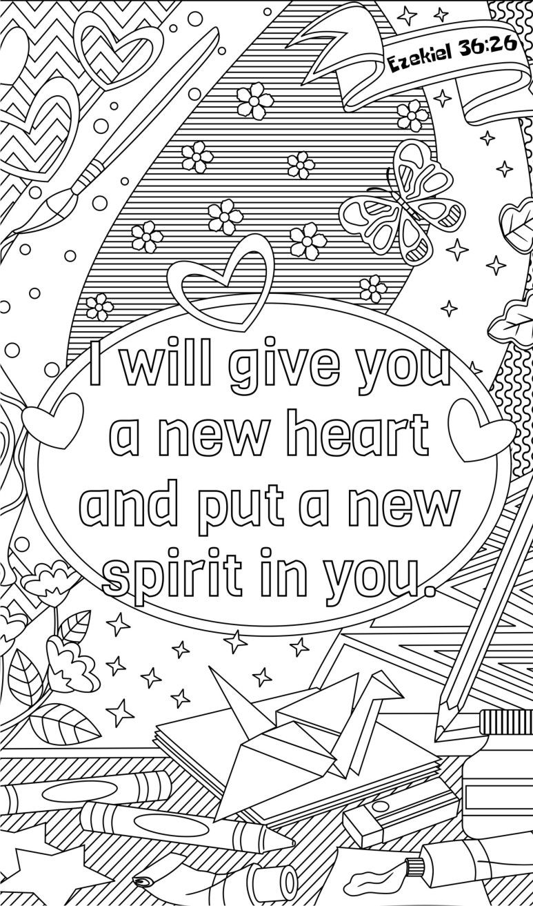 14 Bible Coloring Pages Plus 3 Journals