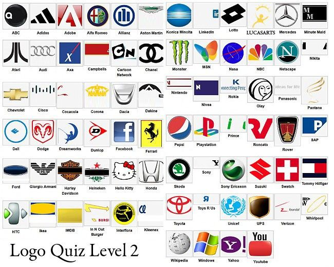 Logo Quiz Level 2 02 Other That I Love Pinterest Logos Logo