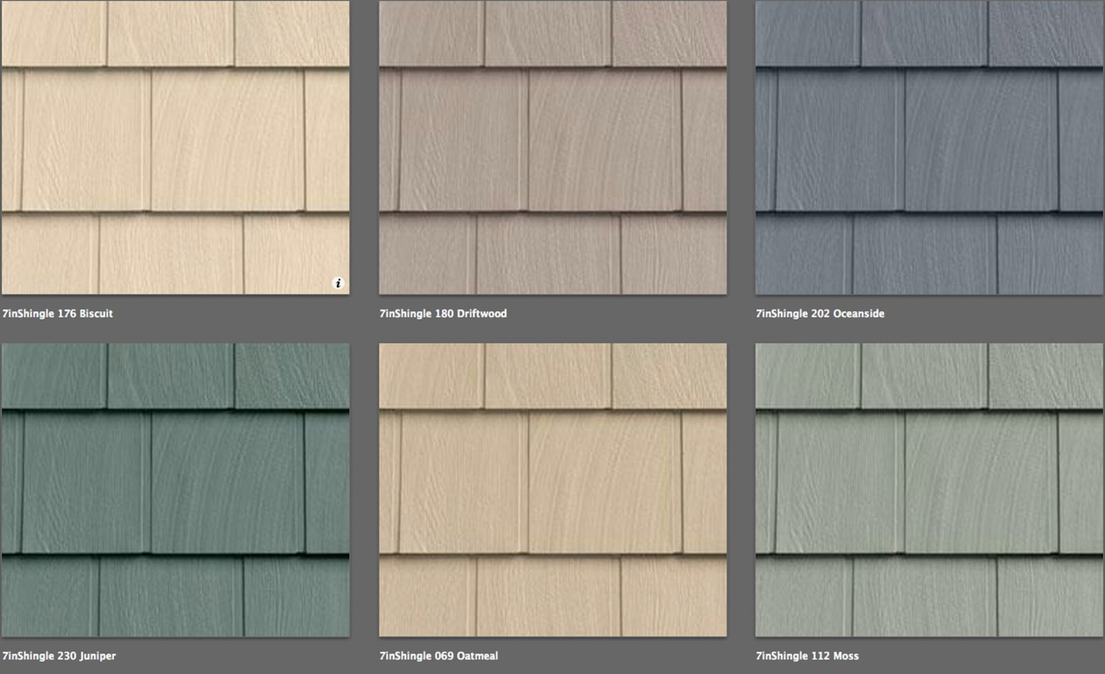 Vinyl Siding Foundry Shingle Like Real Cedar 20 Colors Lifetime Warranty Ebay