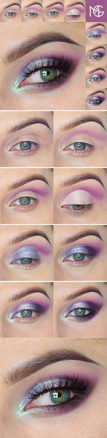 Photo of Hochzeits Make-up für Blondinen Blue Eyes Fal