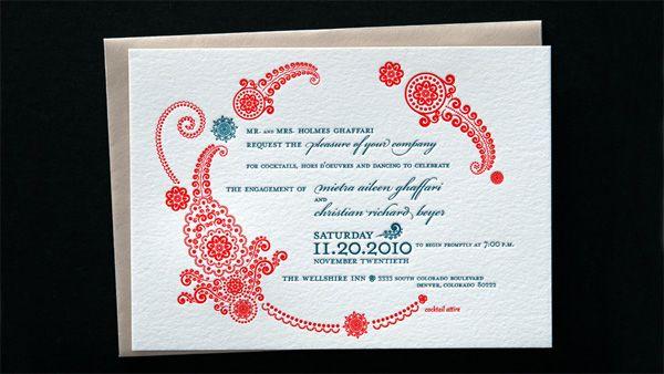 Amy Kitt Engagement Invitation Lynneu0027s Wedding Pinterest - engagement invitation matter