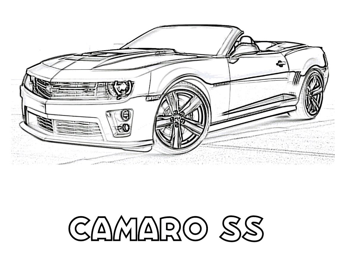 Camaro Coloring Pages K5 Worksheets In 2020 Cars Coloring Pages Camaro Coloring Pages