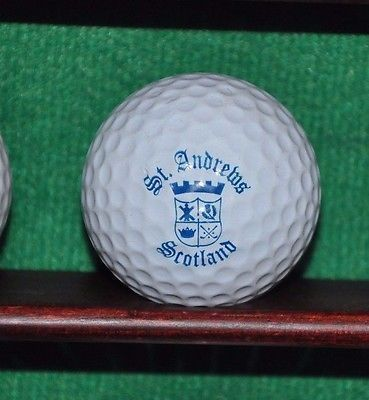 Vintage Royal and Ancient Golf Club of St. Andrews Scotland logo golf ball.