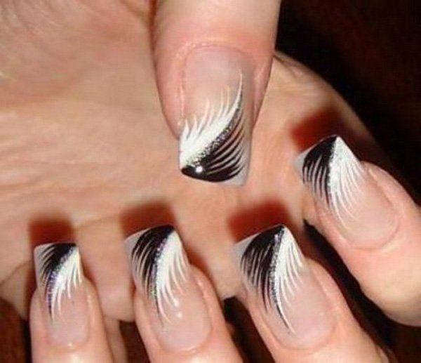 50 Easy Nail Designs | Diseño, Diseño de uñas y Negro