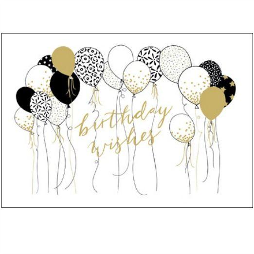 Woodmansterne Contemporary Ebony Birthday Card 412080 Greeting Card Image Birthday Greetings Birthday Images
