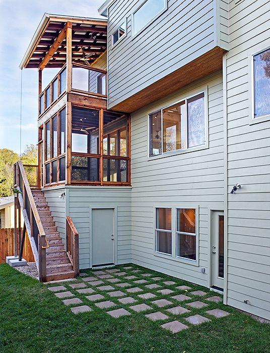 Modern Home | Austin Home | Concrete Pavers | Modern Exterior | Homebuilder in Austin, TX  #modern #modernhome http://www.riversidehomesaustin.com/