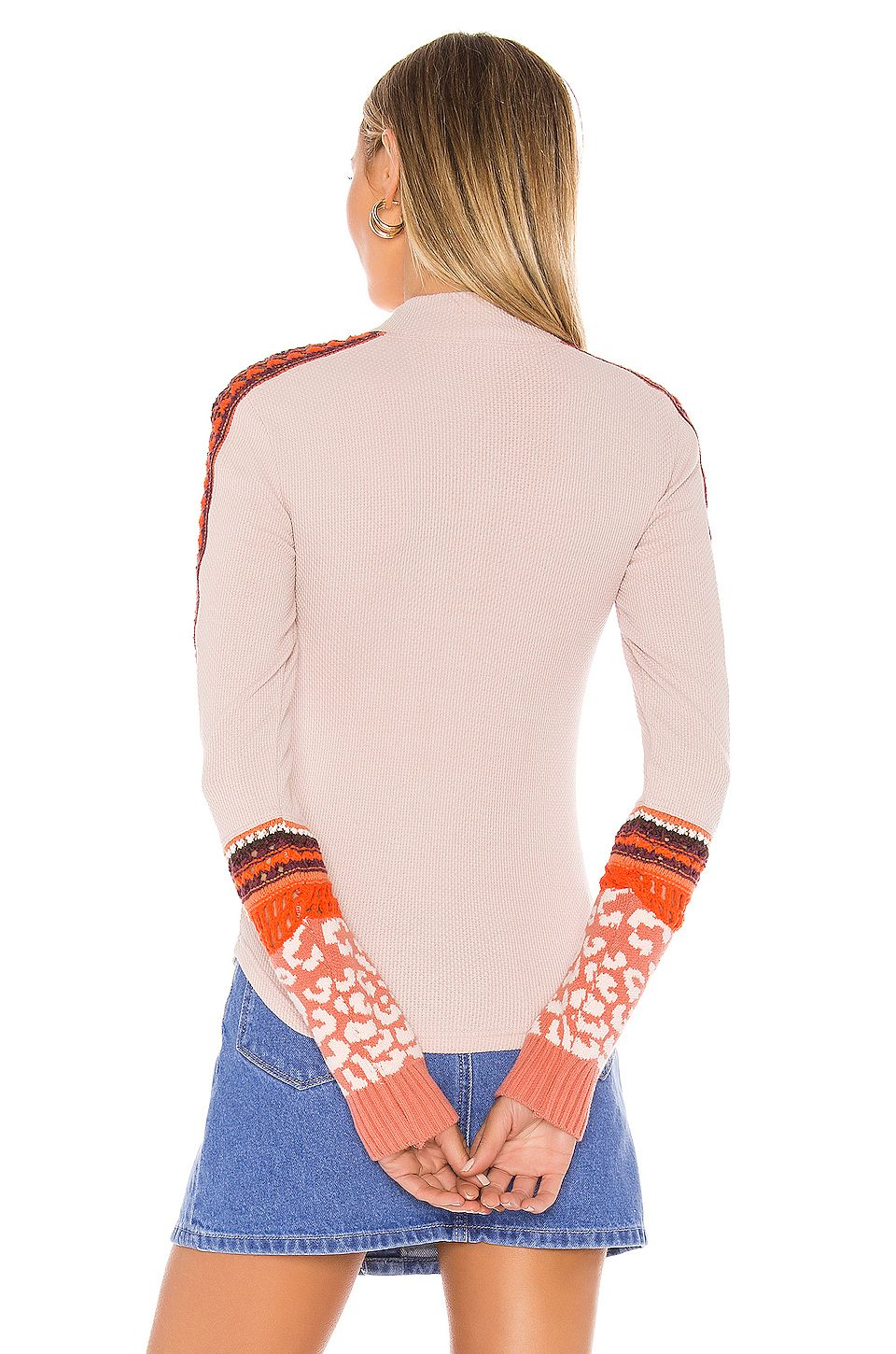 Free People Switch It Up Thermal in Pink