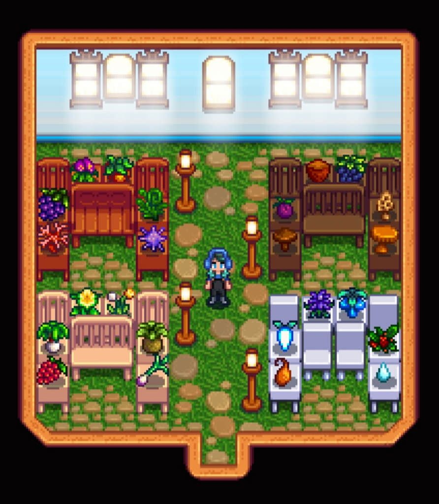 Stardew Valley - Hilltop1 Farm | Green house design ...